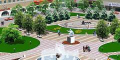 广场草坪绿化工程